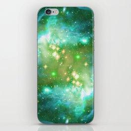 Tiny Lens Textured Nebula iPhone Skin