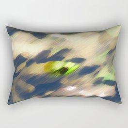 Shy Froggy Rectangular Pillow