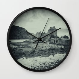 The Dark Castle Wall Clock