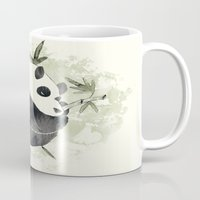 yin yang Mugs featuring Yin Yang by Sah Matsui