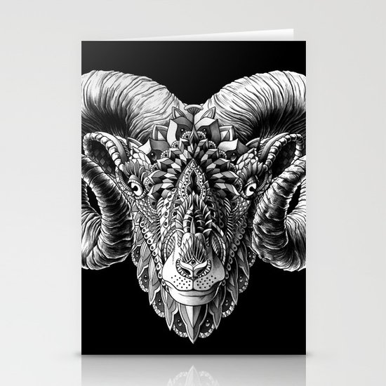 Ram Head Stationery Cards