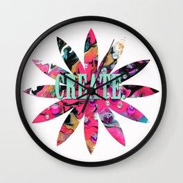 Create. Wall Clock