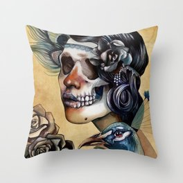 Queen of Indulgence  Throw Pillow