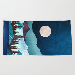 Moon Bay Beach Towel
