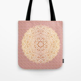 Yellow Tapestry Tote Bag