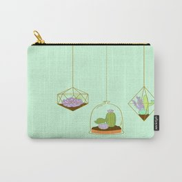 Cactus Terrarium Carry-All Pouch