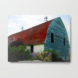 Holmgren Historical Farm Metal Print