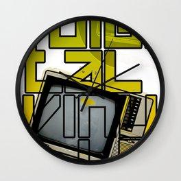 Digital Vinyls 2.0 Wall Clock