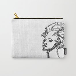 Ink in the hair Carry-All Pouch