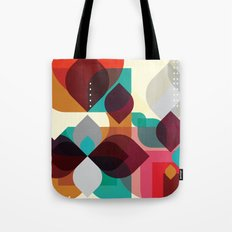 Geometric Abstraction Tote Bag
