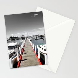 Follow the red Line Stationery Cards