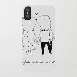 FOUND EACH OTHER iPhone Case