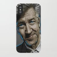 lynch iPhone & iPod Cases featuring DAVID LYNCH by AMBIDEXTROUS™