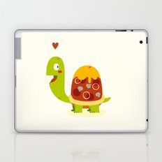 Pizza turtle Laptop & iPad Skin