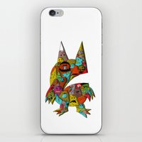 monster iPhone & iPod Skins featuring MONSTER by Tyson Bodnarchuk