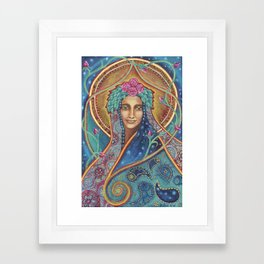 Shakti Creates by Justine Aldersey-Williams Framed Art Print