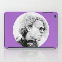 ashton irwin iPad Cases featuring Ashton by Drawpassionn