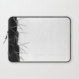 Simple - but effective. Laptop Sleeve
