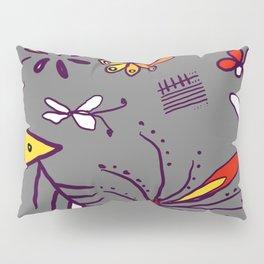 Grey garden Pillow Sham