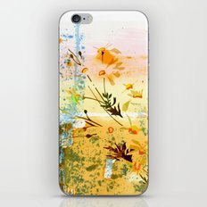 flowers at the beach iPhone Skin