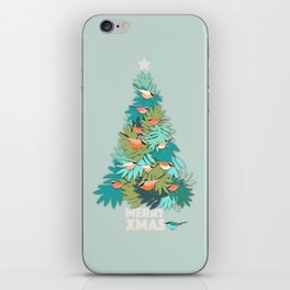 Tropical Xmas iPhone Skin