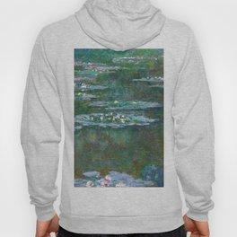 Water Lilies Claude Monet 1904 Hoody