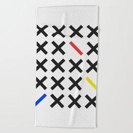 Minimalism 3 Beach Towel
