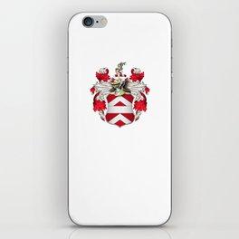 Coat of Arms - Nourse of Virginia iPhone Skin