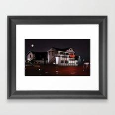 The Road House Framed Art Print
