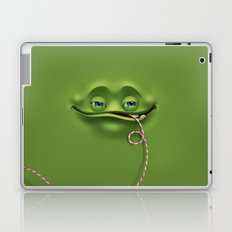 Joyful face Laptop & iPad Skin