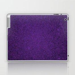 Amethyst Purple Sparkling Jewels Pattern Laptop & iPad Skin