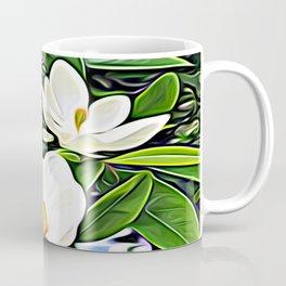 White Flowers of the Purest Essence Coffee Mug