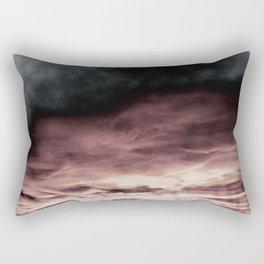 BLACK & PINK & GOLD TOUCHING #1 #abstract #decor #art #society6 Rectangular Pillow