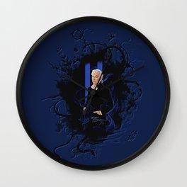 "Laptop-Skin ""Alan Rickman - Bluenote"" Wall Clock"