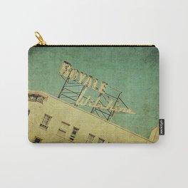 1926 Wilshire Royale Art Deco Vintage Sign Carry-All Pouch