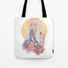She Prayed for Infinity Tote Bag