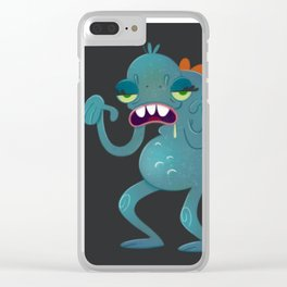 Sick Monster Clear iPhone Case