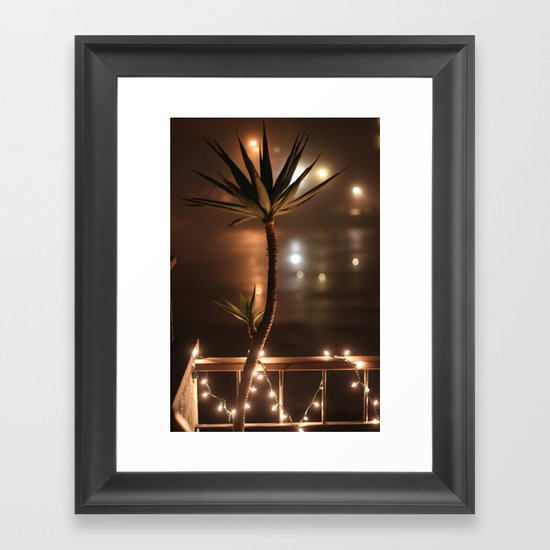The Mist Framed Art Print