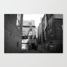 SF Back Alley Canvas Print