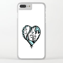 Birth Hearts No.4 Clear iPhone Case