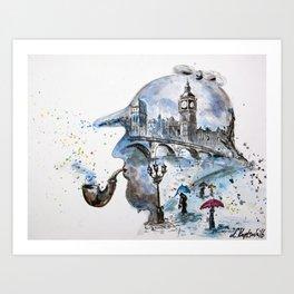Mr. Sherlock Kunstdrucke