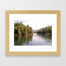 Beautiful Lake George Framed Art Print