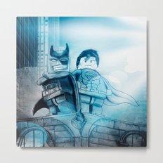 BATMAN/SUPERMAN  Metal Print