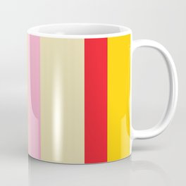 Bold Color - RED, YELLOW, AND PINK Coffee Mug