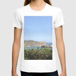 Scenic Caribbean Island Saint Lucia T-shirt