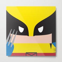 WolverineBlock Metal Print