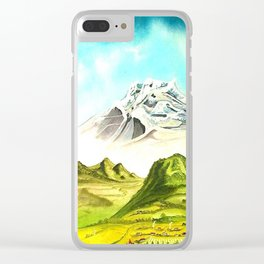EL PUEBLO Clear iPhone Case
