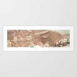 Capitol Reef Petroglyphs Art Print