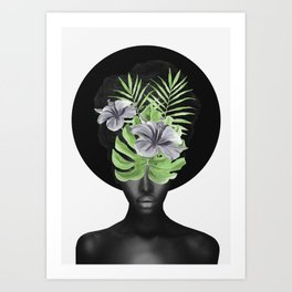 Tropical Girl Art Print