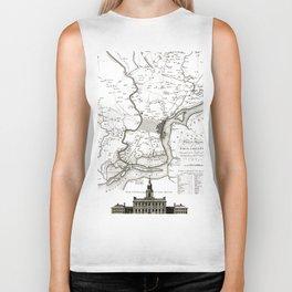 Philadelphia - Pennsylvania  -United States - 1777 Biker Tank